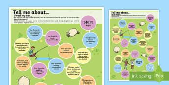 Getting to Know You Board Game English/Afrikaans - Getting to Know You Board Game - getting to know, board game
