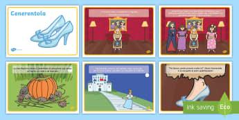 La storia di Cenerentola Poster - la, storia, di, cenerentola, cinderella, favola, favole, tradizionali, leggere, scrivere, italiano,