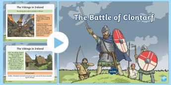 The Battle of Clontarf PowerPoint