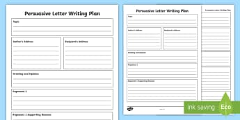 Persuasive Letter Writing Template - Australia, Australian, English Curriculum, State of Origin, persuasive letter,Australia