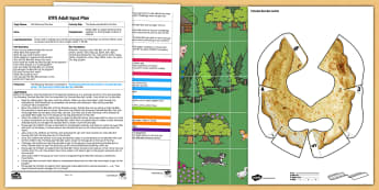 EYFS The Runaway Bee Bot Pancake Adult Input Plan and Resource Pack - EYFS, Early Years planning, adult led, The Runaway Pancake, traditional tales, pancake day, Shrove T