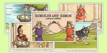 قصة رومولوس و ريموس - اساطير قديمة، قصص قديمة، رومولوس، ريموس