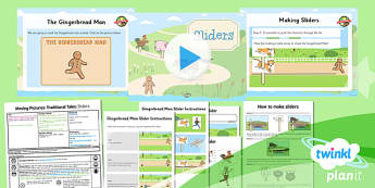 PlanIt - D&T KS1 - Moving Pictures: Traditional Tales Lesson 2: Sliders