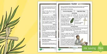KS2 Easter Differentiated Fact File - KS2 Easter 2017, KS2 Easter, ks2 easter, easter, Easter, ks2 Easter, Easter fact file, easter fact f