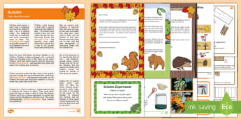Autumn Topic Hook Wow Ideas and Resource Pack - EYFS, Early Years, Early Years planning, Key Stage 1, KS1, topic starter, topic introduction, Wow ac