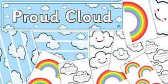 Proud Cloud Display Pack - proud cloud, display pack, display, pack
