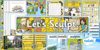 Art: Let's Sculpt KS1 Unit Additional Resources