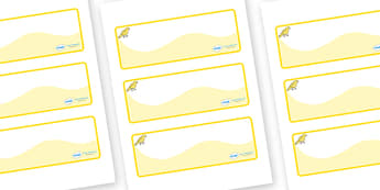 Canary Themed Editable Drawer-Peg-Name Labels (Colourful) - Themed Classroom Label Templates, Resource Labels, Name Labels, Editable Labels, Drawer Labels, Coat Peg Labels, Peg Label, KS1 Labels, Foundation Labels, Foundation Stage Labels, Teaching L