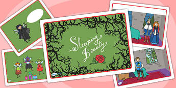 Sleeping Beauty Story Sequencing - sleeping beauty, story sequencing, sleeping beauty story, story books, traditional tales, traditional stories, books