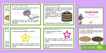 Matilda - Cartonașe cu probleme pentru clasa a II-a