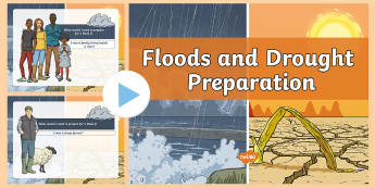 Floods and Droughts Preparation Class Discussion PowerPoint - Climate, conditions, discussions, ideas, opinions,Australia