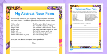 Mother's Day Abstract Noun Poem - australia, Mother's Day, abstract noun poem, poem, mother poem, haiku, writing