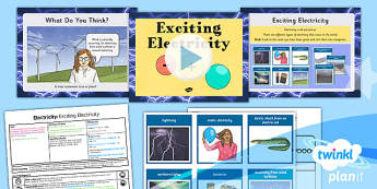 PlanIt - Science Year 4 - Electricity Lesson 1: Exciting Electricity Lesson Pack - planit, science, year 4, electricity
