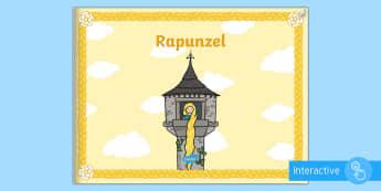 Rapunzel eBook - German, Fairy Tales, Rapunzel, Märchen, deutsch, language, ebook