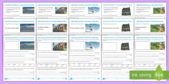 LKS2 Uplevelling Sentences Activity Sheets - Uplevel, Edit and improve, editing, improving, securing writing, Year 3, Year 4