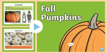 Fall Pumpkins PowerPoint