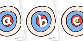 Phoneme Set on Targets - Phoneme set, phonemes, phoneme, Letters and Sounds, DfES, display, Phase 1, Phase 2, Phase 3, Phase 5, Foundation, Literacy