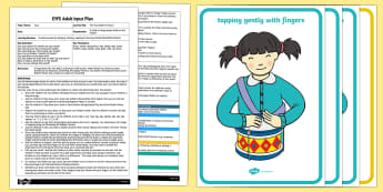 EYFS The Toy Soldier's March Adult Input Plan and Resource Pack - Toys, music, drum, bang, shake, tap, blow, soldiers, drummers, changing sounds, ead.