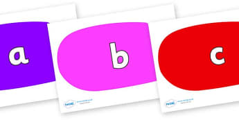 Phase 2 Phonemes on Speech Bubbles (Multicolour) - Phonemes, phoneme, Phase 2, Phase two, Foundation, Literacy, Letters and Sounds, DfES, display