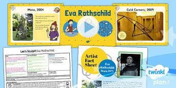 Art: Let's Sculpt: Eva Rothschild KS1 Lesson Pack 6