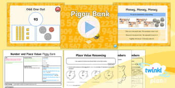 PlanIt Y3 Number and Place Value Lesson Pack Place Value (1) - Number and Place Value, steps of, counting on, problem solving, maths mastery, year 3, fun maths, hu