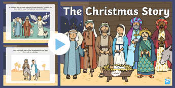 The Nativity Christmas Story PowerPoint - powerpoint, power point, interactive, powerpoint presentation, presentation, slide show, slides, the nativity, the nativity story, nativity, nativity presentation, nativity powerpoint, discussion aid, discuss