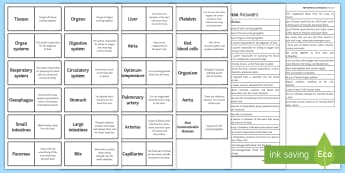 AQA Infection and Response Word Loops - Word Loops, infection, pathogens, blind trials, placebo, antibodies, antibiotics, MMR