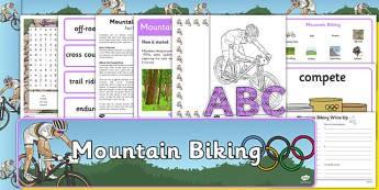 Rio 2016 Olympics Mountain Biking Resource Pack - rio 2016, rio olympics, 2016 olympics, mountain biking, resource pack