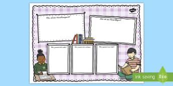 Bunte Buchkritik Schreibvorlage - Lesen, Buchrezension, Buch, Bücher, Lektüre, Sommerlektüre, ,German