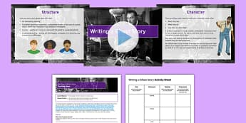 Narrative Writing Lesson Pack 8: Writing a Ghost Story - ghost, story, gothic, key stage 3, ks3, secondary