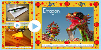 Chinese New Year Photo PowerPoint - australia, photo, new year