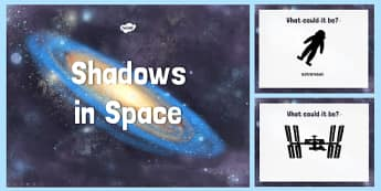 Space Themed Shadow PowerPoint - space, shadow, powerpoint