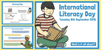 International Literacy Day 2015 - international, literacy day, 2015