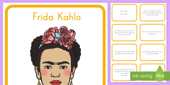 Frida Kahlo Diverse Minds on Display Pack - Cinco de Mayo, artist, self-portrait, Mexico, Mexican,