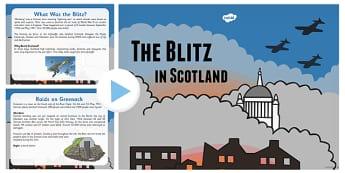 The Blitz in Scotland PowerPoint - the blitz, scotland, powerpoint