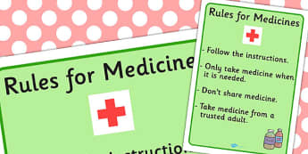 Important Rules For Medicine Visual Support - Rules, Medicine