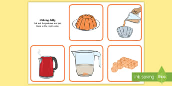 How to Make Jelly Sequencing Cards - How to Make Jelly Sequencing Cards - making jelly how to jelly, sequence, sequencing cards, cards, s