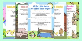 Pack de ressources : Chansons et chants sur le printemps et les animaux - Anglais LV