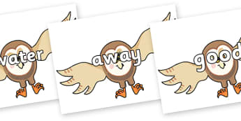 Next 200 Common Words on Hullabaloo Owl to Support Teaching on Farmyard Hullabaloo - Next 200 Common Words on  - DfES Letters and Sounds, Letters and Sounds, Letters and sounds words, Common words, 200 common words