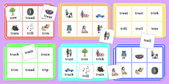 TR Bingo - tr sound, bingo, game, activity, sound, tr, sen, bingo game