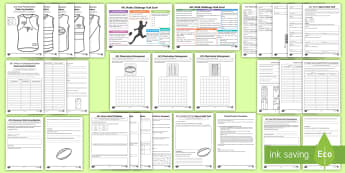 AFL Maths Years 4 - 6  Resource Pack - English - AFL, AFL Maths, Problem solving, open ended maths, prime numbers Composite numbers, odd and even num