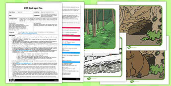 Movement Activity to Support Teaching on Bear Hunt EYFS Adult Input Plan and Resource Pack