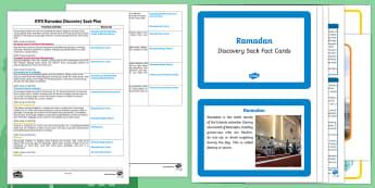 EYFS Ramadan Discovery Sack Plan and Resource Pack - ramadan, discovery sack, sack, discovery
