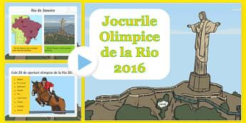 Olimipiada de la Rio 2016 - Prezentare PowerPoint