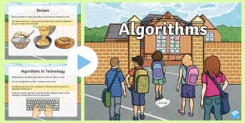 Algorithms PowerPoint - CfE Digital Learning Week (15th May 2017) Digital learning and teaching strategy TCH 1-13a TCH 2-13a