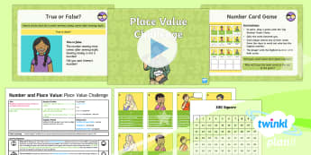 PlanIt Y2 Number and Place Value Recognise Place Value (3) Differentiated Lesson Pack - tens, ones, partition, partitioning, expanded form, expand, year 2, year two, ks1, maths, planning,