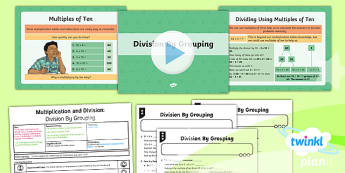 PlanIt Y4 Multiplication and Division Lesson Pack Mental Multiplication and Division (4)