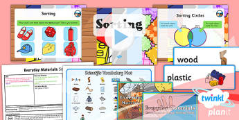 PlanIt - Science Year 1 - Everyday Materials Lesson 6: Sorting Lesson Pack
