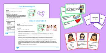 Jocuri de conversație - Pachet cu cartonașe