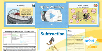 PlanIt Y4 Addition and Subtraction Lesson Pack Solving Problems (1) - maths mastery, word problems, rucsac, one step, two step, problem, problem solving, choose, operatio